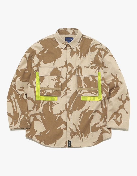 thisisneverthat Jungle Shirt Jacket - Dessert Camo | HEIGHTS. | 하이츠 온라인 스토어