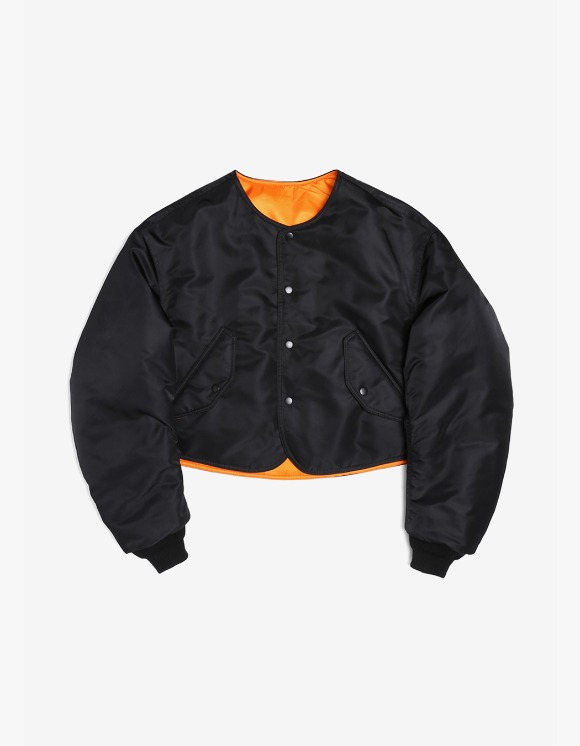 s/e/o Cropped Bomber Jacket - Black | HEIGHTS. | 하이츠 온라인 스토어
