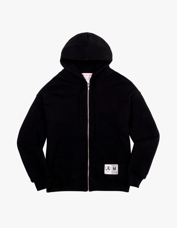 Richardson Thermal Drop Shoulder Zip Hoodie - Black | HEIGHTS. | 하이츠 온라인 스토어