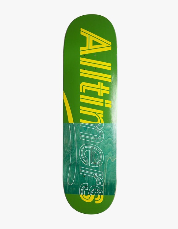 Alltimers Trace Logo Board Green 8.5"