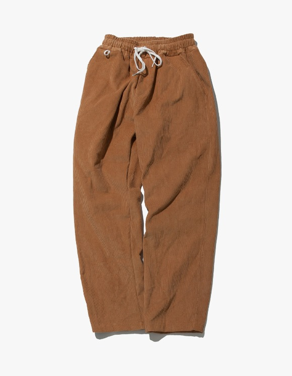 Kruchi lab Corduroy Keyring Easy Pants - Brown | HEIGHTS. | 하이츠 온라인 스토어