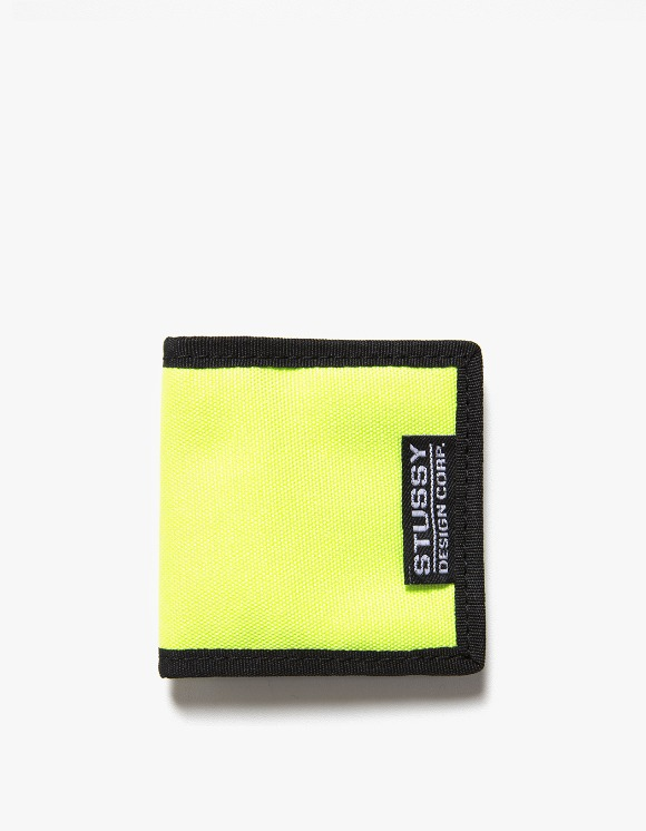 Stussy Box Coin Pouch - Lime | HEIGHTS. | 하이츠 온라인 스토어