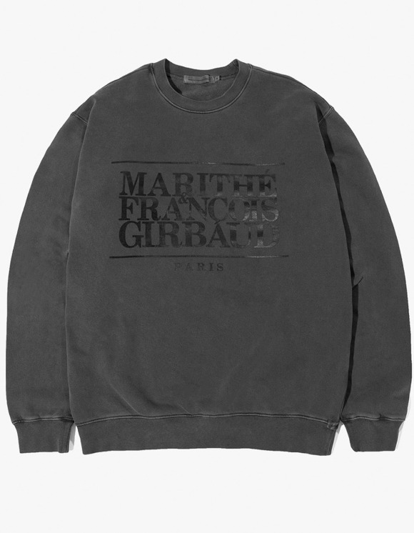 Marith+Franois Girbaud MFG CLASSIC LOGO SWEATSHIRT charcoal | HEIGHTS. | 하이츠 온라인 스토어