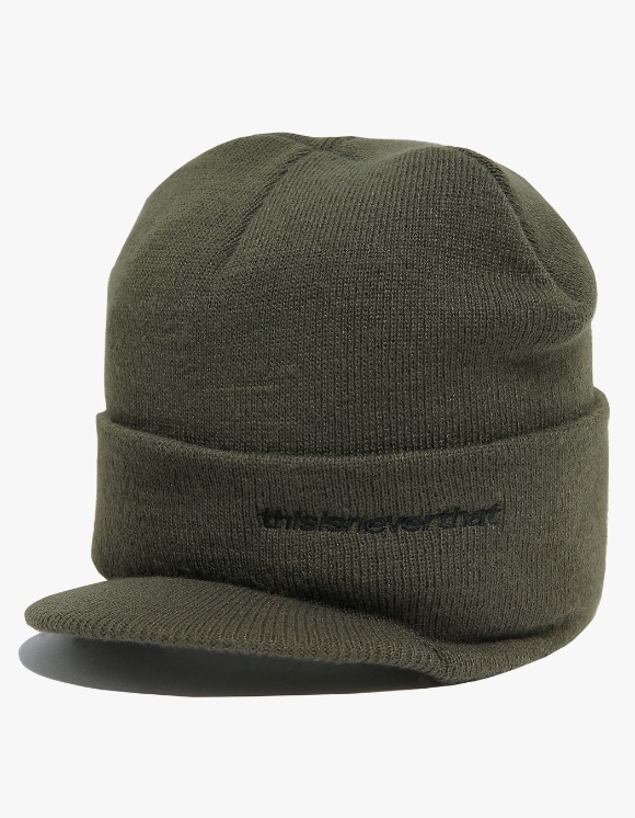 thisisneverthat Beanie Visor Cap - Olive | HEIGHTS. | 하이츠 온라인 스토어