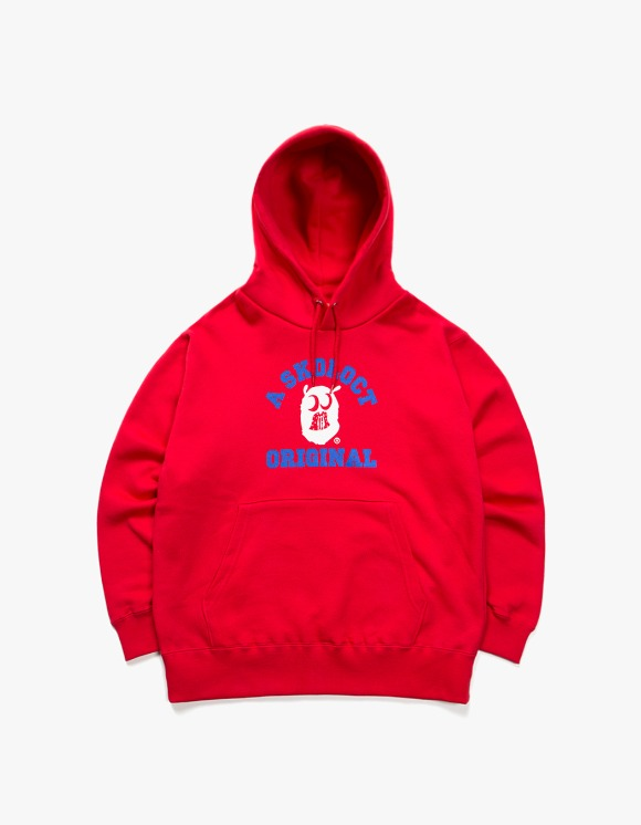 Skoloct A Skoloct Original Hoodie - Red | HEIGHTS. | 하이츠 온라인 스토어