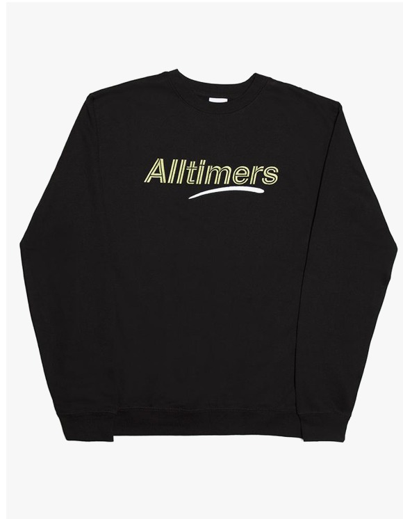 Alltimers Estate Crewneck - Black | HEIGHTS. | 하이츠 온라인 스토어