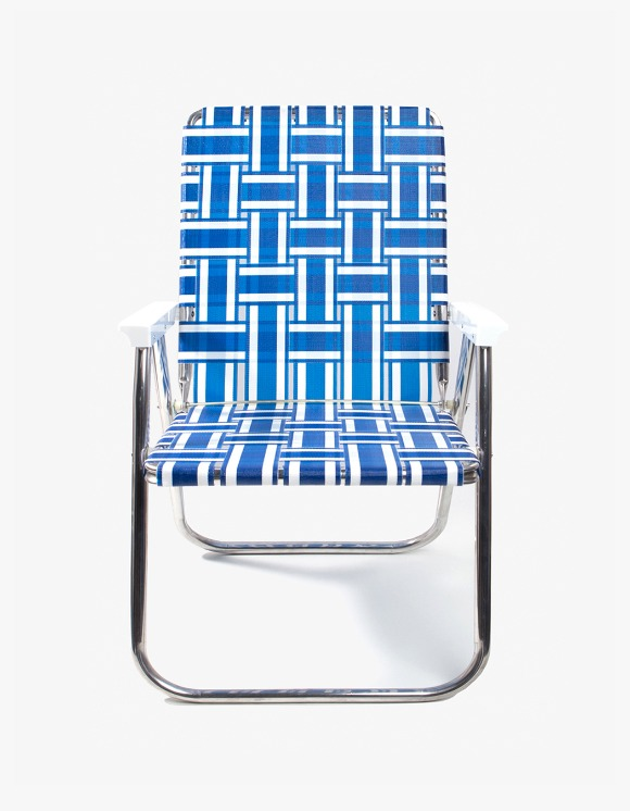 Lawn Chair Deluxe Chair - Blue and White | HEIGHTS. | 하이츠 온라인 스토어