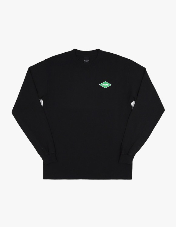 Only NY Diamon Logo L/S Tee - Black | HEIGHTS. | 하이츠 온라인 스토어