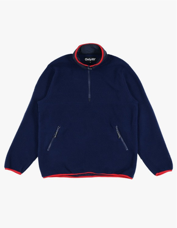 Only NY Trail Pullover Fleece - Navy | HEIGHTS. | 하이츠 온라인 스토어