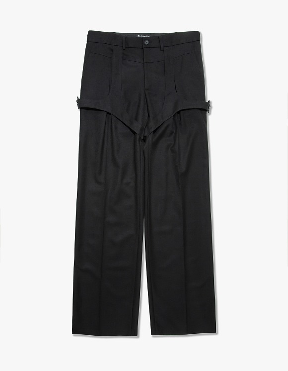 Cost Per Kilo Layered Suit Trouser - Black | HEIGHTS. | 하이츠 온라인 스토어
