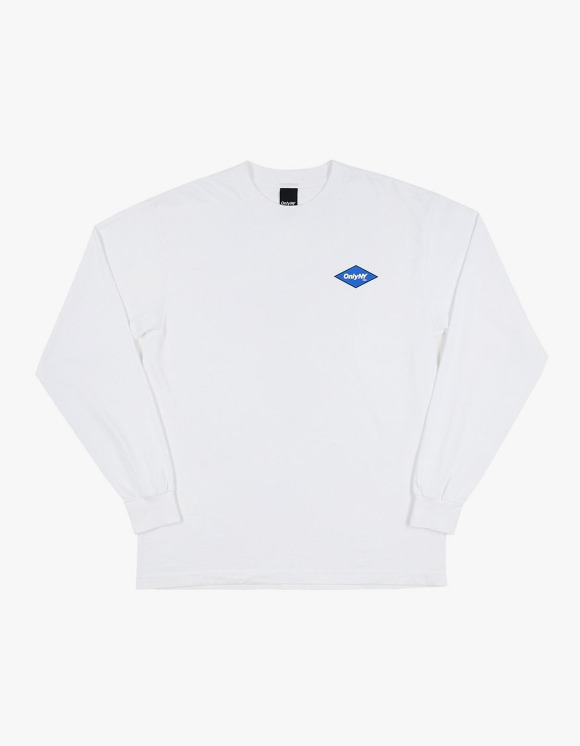Only NY Diamond Logo L/S Tee - White | HEIGHTS. | 하이츠 온라인 스토어