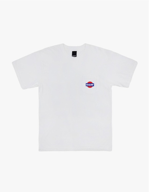 Only NY Service S/S Tee - White | HEIGHTS. | 하이츠 온라인 스토어