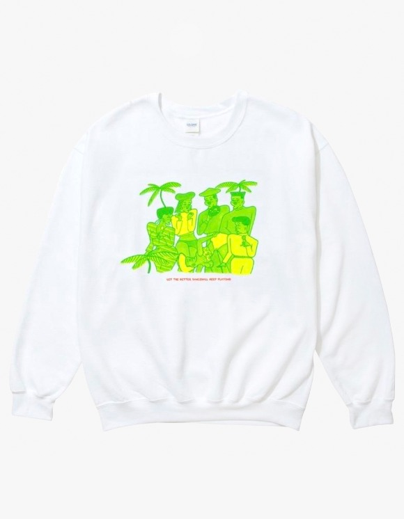 Moomblast Moomblast Crewneck - White | HEIGHTS. | 하이츠 온라인 스토어