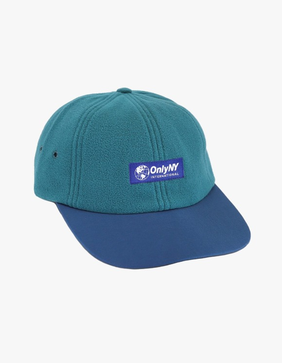 Only NY International Fleece Polo Hat - Teal | HEIGHTS. | 하이츠 온라인 스토어