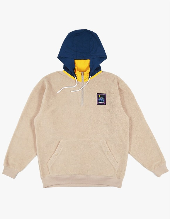 Only NY Outdoor Gear Fleece Pullover - Sand | HEIGHTS. | 하이츠 온라인 스토어