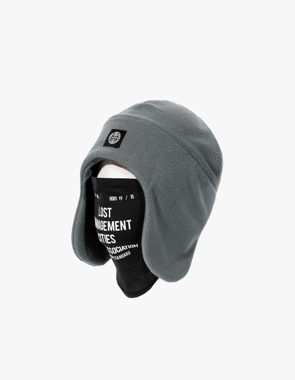 LMC LMC MASK FLEECE EARFLAP BEANIE gray | HEIGHTS. | 하이츠 온라인 스토어