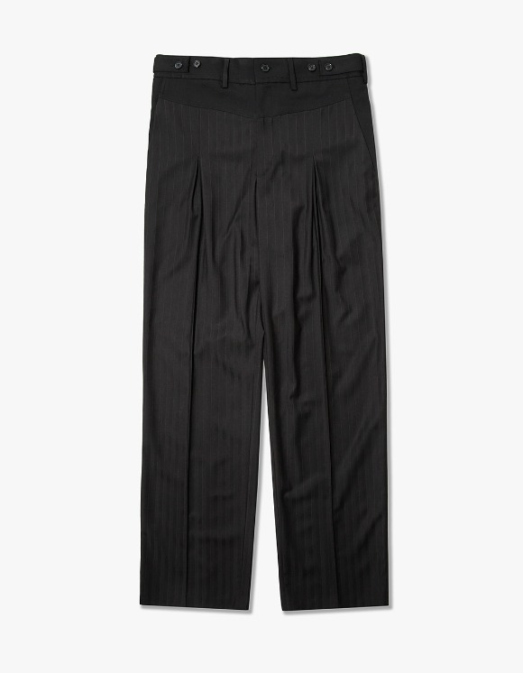 Cost Per Kilo Mixed Patter Trouser - Black/Red Stripe | HEIGHTS. | 하이츠 온라인 스토어