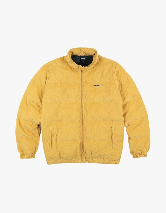 Only NY Corduroy Puffer Jacket - Murstard | HEIGHTS. | 하이츠 온라인 스토어