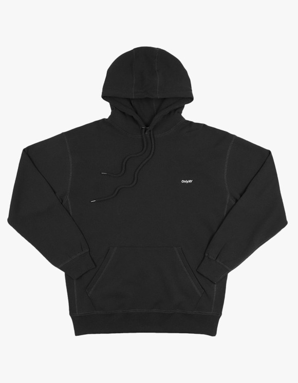 Only NY Core Logo Hoodie - Black | HEIGHTS. | 하이츠 온라인 스토어