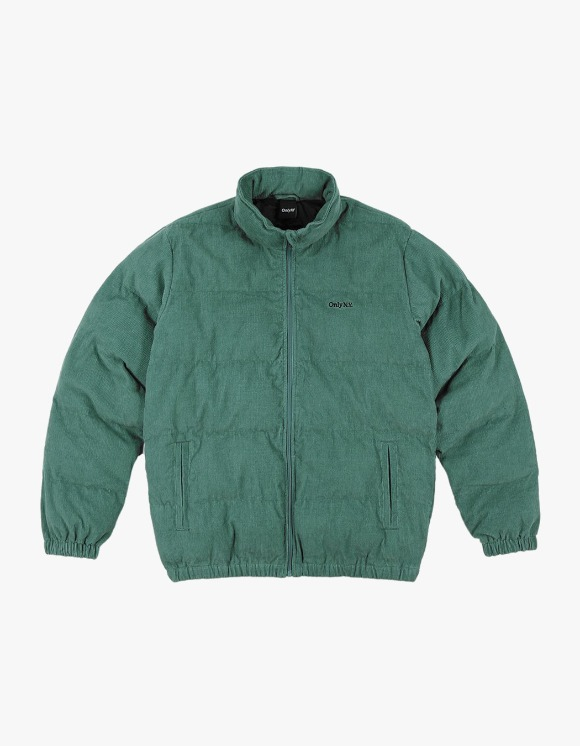Only NY Corduroy Puffer Jacket - Green | HEIGHTS. | 하이츠 온라인 스토어