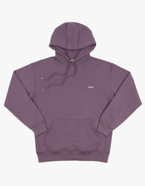Only NY Core Logo Hoodie - Plum | HEIGHTS. | 하이츠 온라인 스토어