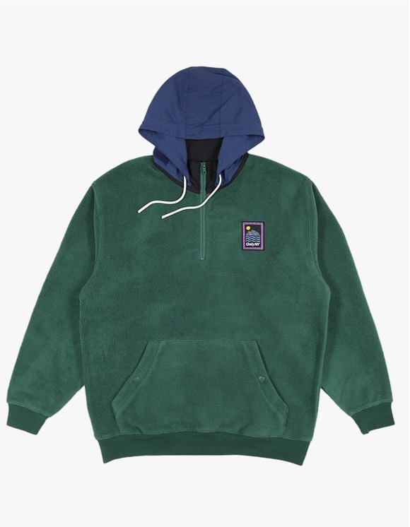 Only NY Outdoor Gear Fleece Pullover - Green | HEIGHTS. | 하이츠 온라인 스토어