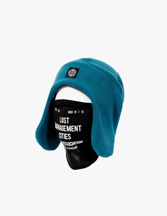 LMC LMC MASK FLEECE EARFLAP BEANIE teal green | HEIGHTS. | 하이츠 온라인 스토어