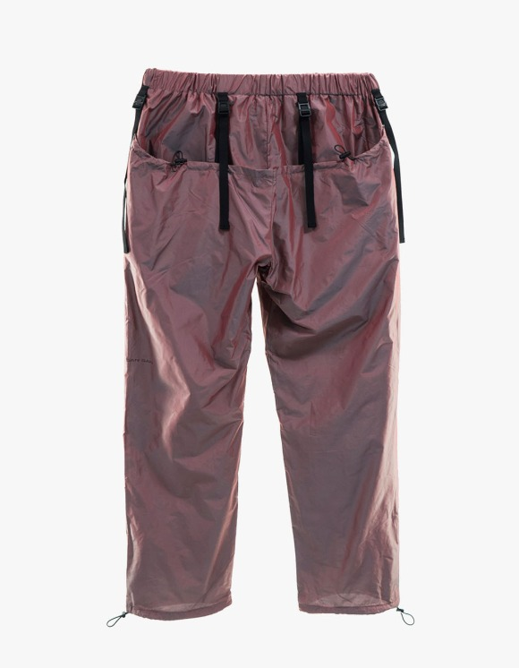 San San Bicolor Double Pants - Red | HEIGHTS. | 하이츠 온라인 스토어