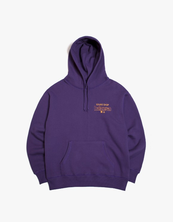 Balansa Balansa Logo Hoodie - Purple | HEIGHTS. | 하이츠 온라인 스토어