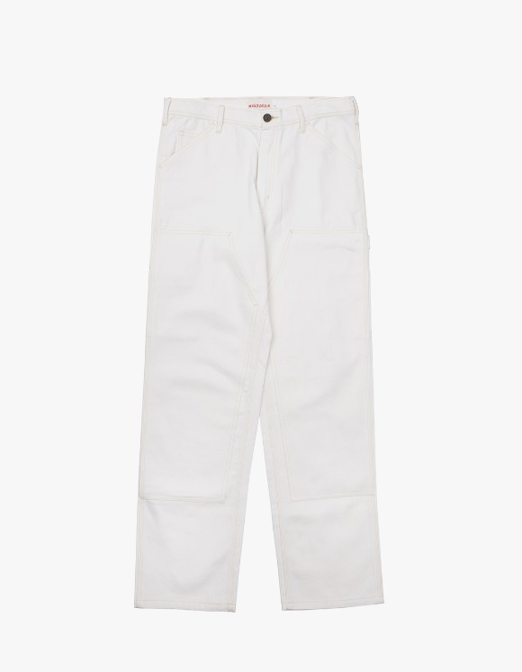 Victoria Hong Kong Double Knee Pants - White | HEIGHTS. | 하이츠 온라인 스토어
