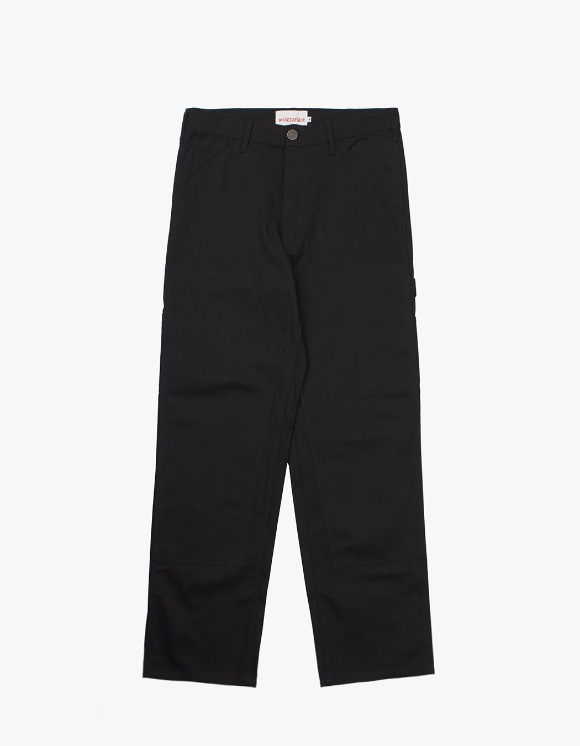 Victoria Hong Kong Double Knee Pants - Black | HEIGHTS. | 하이츠 온라인 스토어