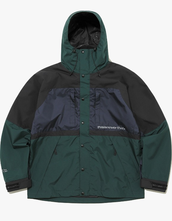 thisisneverthat GORE-TEX® INFINIUM™ Explorer jacket - Forest | HEIGHTS. | 하이츠 온라인 스토어