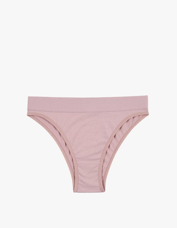 Dohyo Wide Banded High Waist - Pink | HEIGHTS. | 하이츠 온라인 스토어