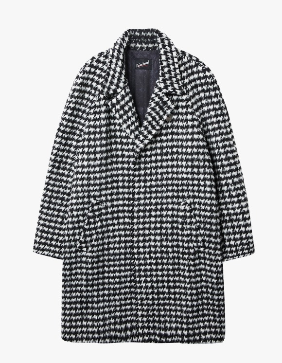 Dying Breed Houndstooth Check Wool Coat | HEIGHTS. | 하이츠 온라인 스토어
