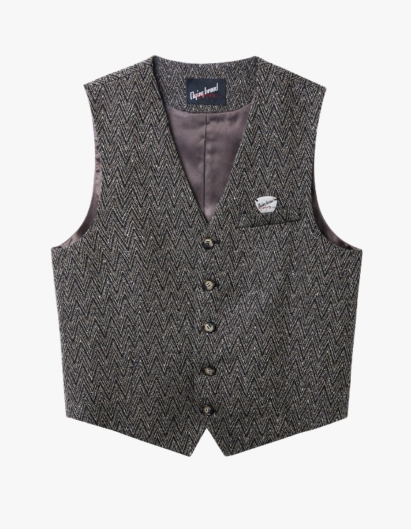 Dying Breed Brown Wool Vest | HEIGHTS. | 하이츠 온라인 스토어