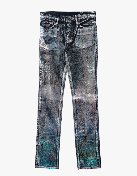 Dying Breed Holographic Black Straight Jean | HEIGHTS. | 하이츠 온라인 스토어