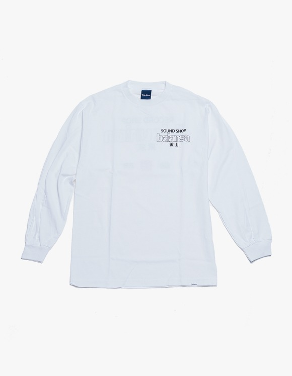 360Sounds INTERBREED x BALANSA x diskunion DEALERS LS Tee - White | HEIGHTS. | 하이츠 온라인 스토어