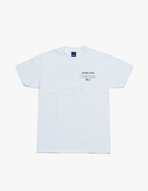 360Sounds INTERBREED x BALANSA x diskunion DEALERS SS Tee - White | HEIGHTS. | 하이츠 온라인 스토어