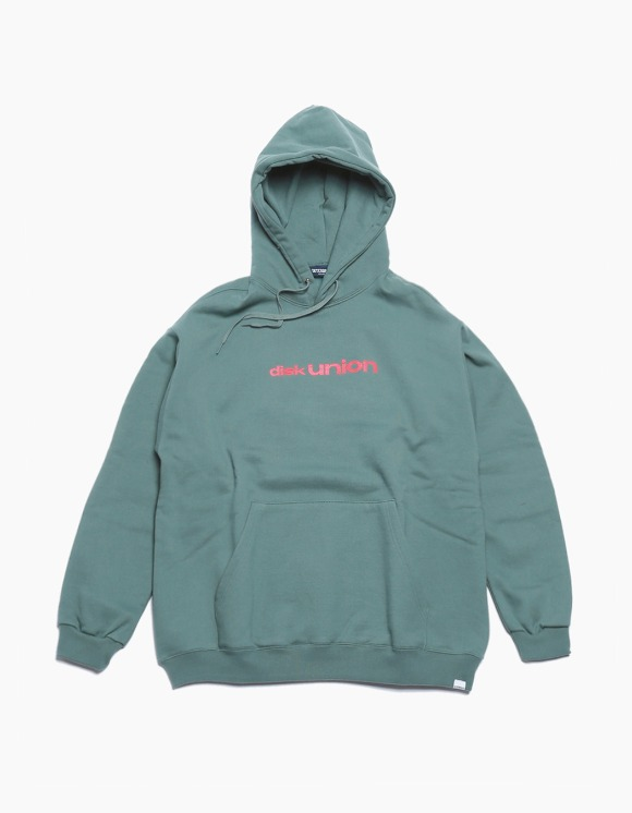 360Sounds INTERBREED x 360SOUNDS x diskunion PLAYERS Hoodie - Olive | HEIGHTS. | 하이츠 온라인 스토어
