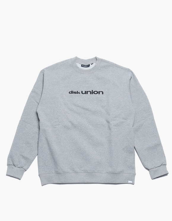 360Sounds INTERBREED x 360SOUNDS x diskunion PLAYERS CREWNECK GREY | HEIGHTS. | 하이츠 온라인 스토어