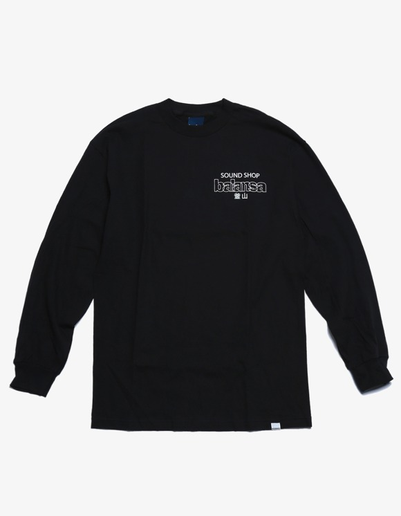 360Sounds INTERBREED x BALANSA x diskunion DEALERS LS Tee - Black | HEIGHTS. | 하이츠 온라인 스토어