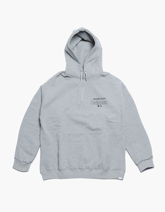 360Sounds INTERBREED x BALANSA x diskunion DEALERS Hoodie GREY | HEIGHTS. | 하이츠 온라인 스토어