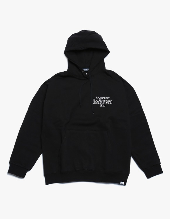 360Sounds INTERBREED x BALANSA x diskunion DEALERS Hoodie - Black | HEIGHTS. | 하이츠 온라인 스토어