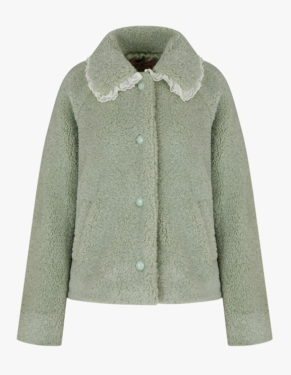 Margarin Fingers Lace Bukeul Jacket - Mint | HEIGHTS. | 하이츠 온라인 스토어