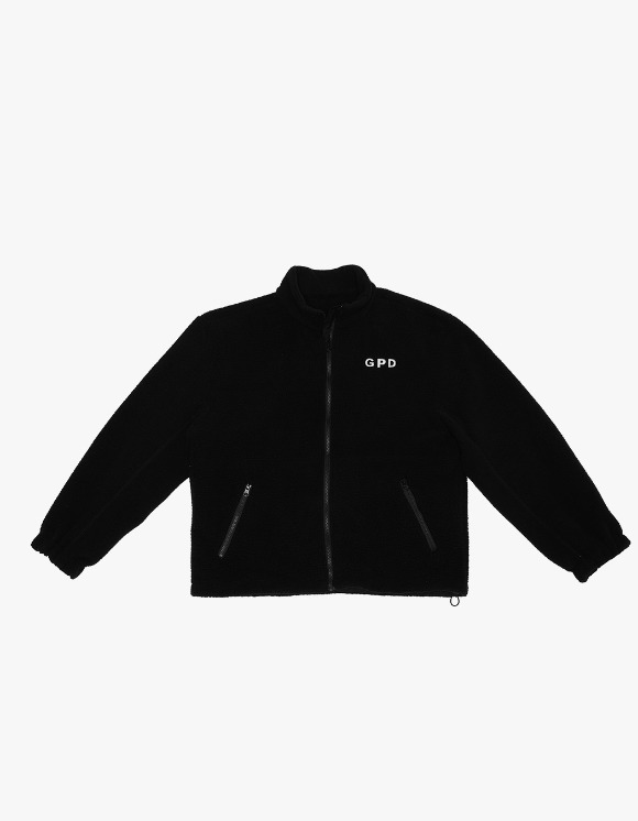 GPD Fleece Jacket - Black | HEIGHTS. | 하이츠 온라인 스토어