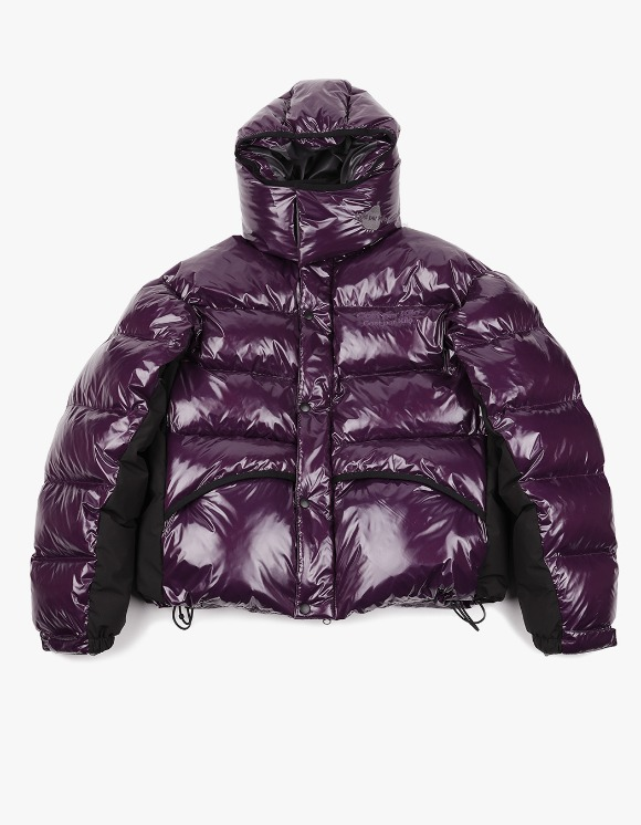 Cost Per Kilo Glossy Puffer Jacket - Glossy Violet | HEIGHTS. | 하이츠 온라인 스토어