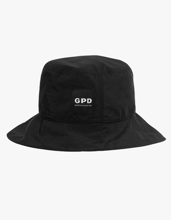 GPD Reversible Bucket Hat - Black | HEIGHTS. | 하이츠 온라인 스토어