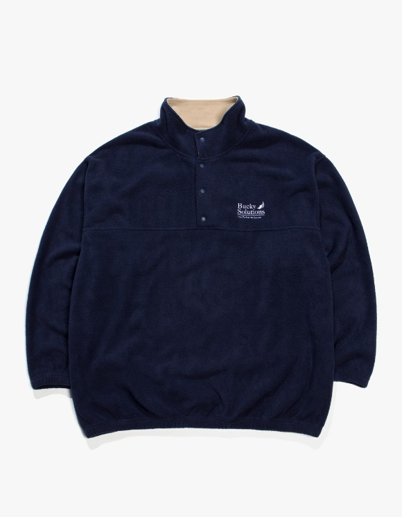 Beasts And Natives Alike Bucky Fleece - Navy | HEIGHTS. | 하이츠 온라인 스토어