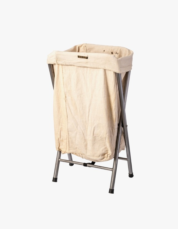 PUEBCO INC. Folding Laundry Hamper - Off White | HEIGHTS. | 하이츠 온라인 스토어