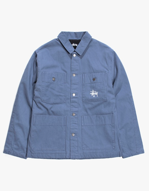 Stussy Quilted Chore Coat - Blue | HEIGHTS. | 하이츠 온라인 스토어